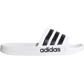 adidas Adilette Shower Ciabatte Uomo, footwear white/core black/footwear white